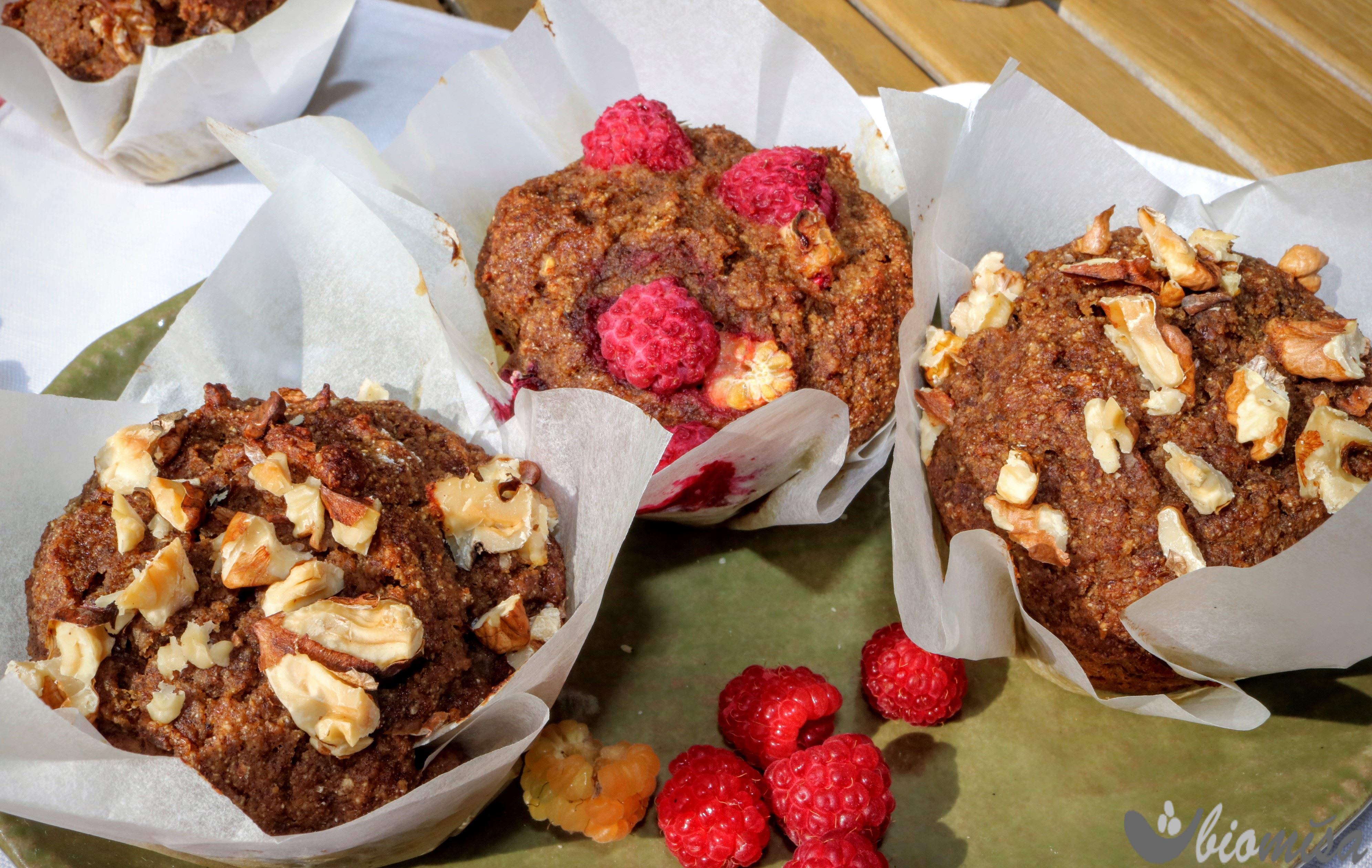 Hruškovo-datlové muffiny